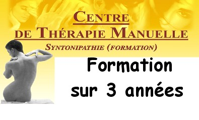 Formation therapie manuelle syntonipathie